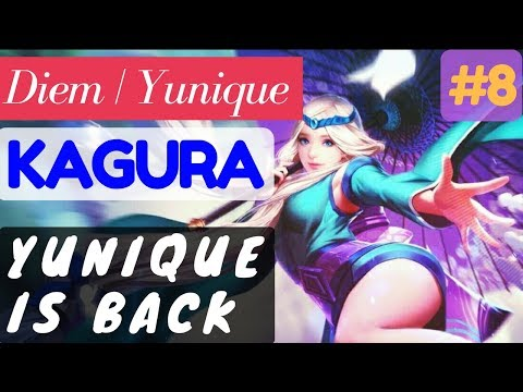 Yunique Is Back [Rank 3 Kagura] | Kagura Gameplay and Build By Diem | Yunique Mobile Legends