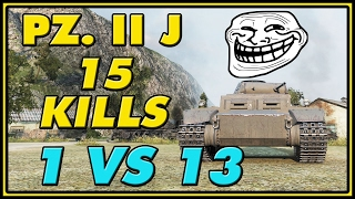World of Tanks | Pz. II Ausf. J - 15 KILLS - 2.1K Damage