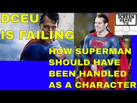 DCEU IS FAILING...My thoughts on how a Superman movie franchise could work Movie Fix Ep.03