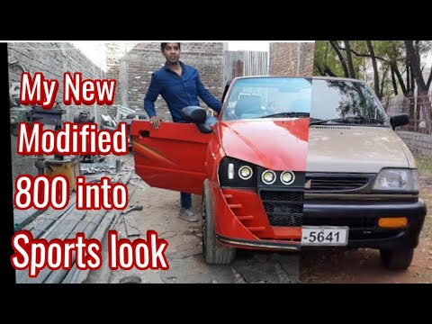 maruti 800 to sports car | Best ever modified maruti 800 | MAGNETO11