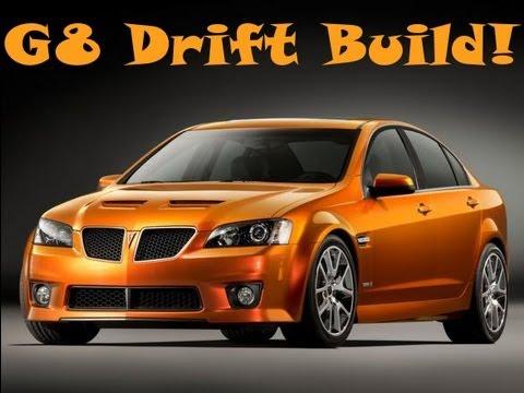 Forza Motorsport 4 Pontiac G8 GXP Drift Build