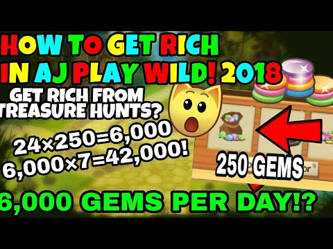 How To Get Rich Fast In AJ Play Wild! My Goals For 2018