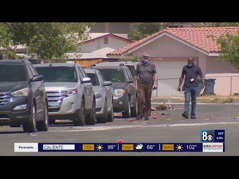 Fireworks so loud that neighbors didn't hear gunshots that killed 2 men in North Las Vegas