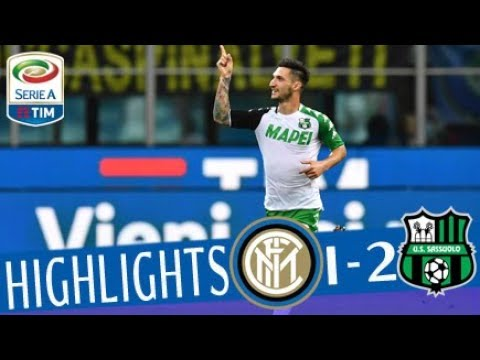 Inter - sassuolo 1-2 - highlights - matchday 37 - serie a tim 2017/18