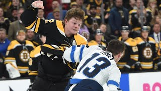 NHL: When The Rookie Drops The Gloves