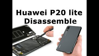 Huawei P20 lite Disassemble , Touch ,Display, Battery ,Teardown ,Fingerprint ,Backcover.