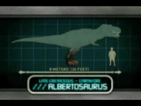 JP Explorer - Albertosaurus Profile