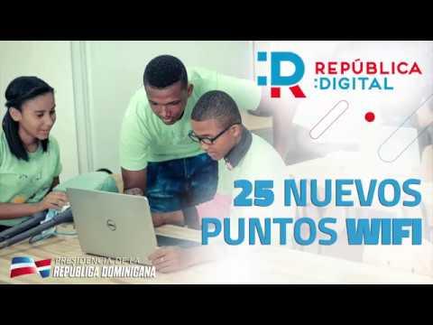 VIDEO: República Digital: 25 nuevos puntos Wifi
