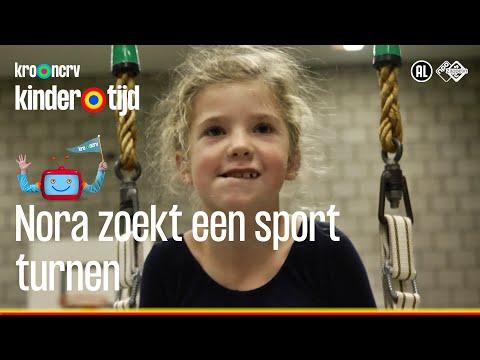 Nora zoekt een sport - Turnen (Kindertijd KRO-NCRV) - Видео онлайн