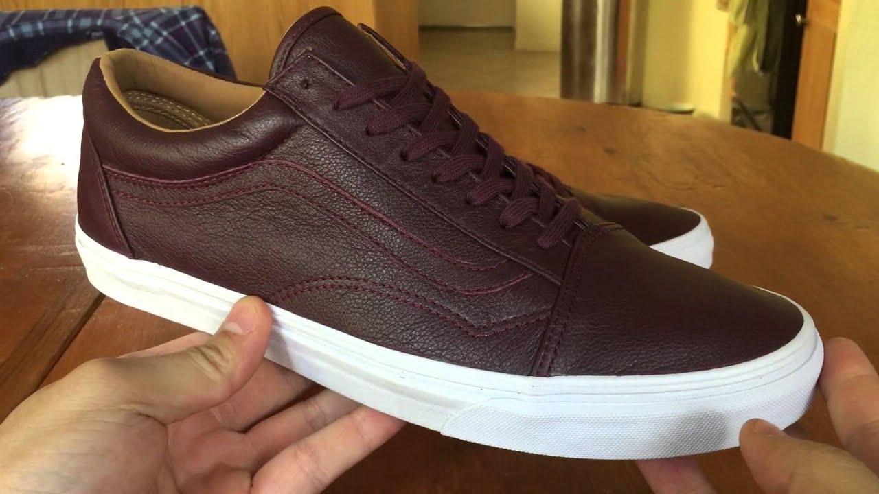 vans old skool lux leather