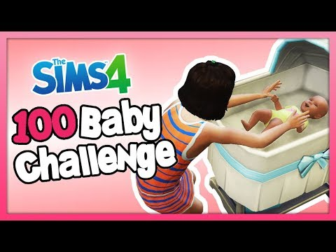 BONDING WITH HER NEW SISTER! - The Sims 4: 100 Baby Challenge w/ Parenthood - Part 68