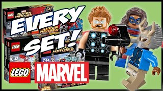 Every Marvel Super Heroes Lego Set Ever Made! 2012-2019!