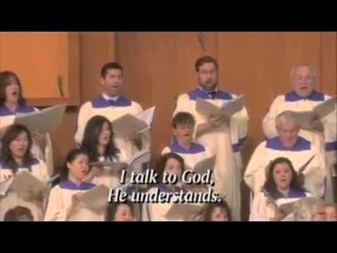 I'll Walk with God with Lyrics - Crystal Cathedral Choir - Don Neuen- arranged by J. Mulder