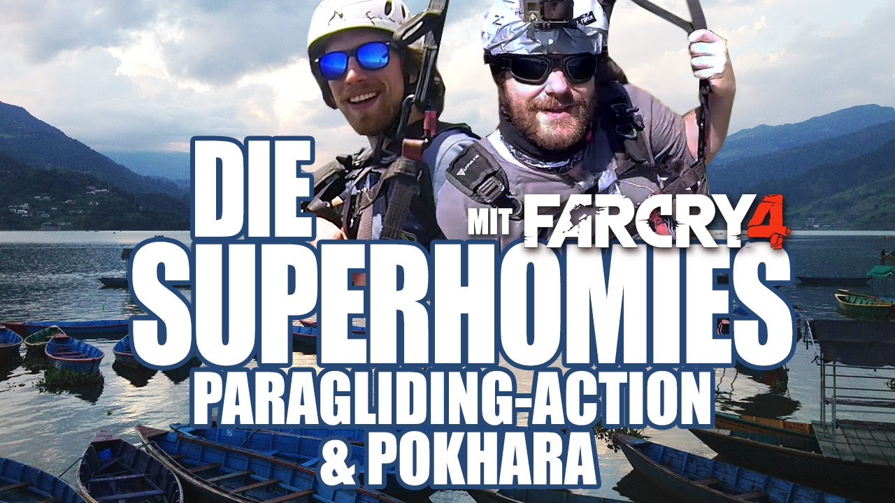 Die Superhomies in Nepal - Paragliding-Action 3/4 | Far Cry 4 | Ubisoft [DE]