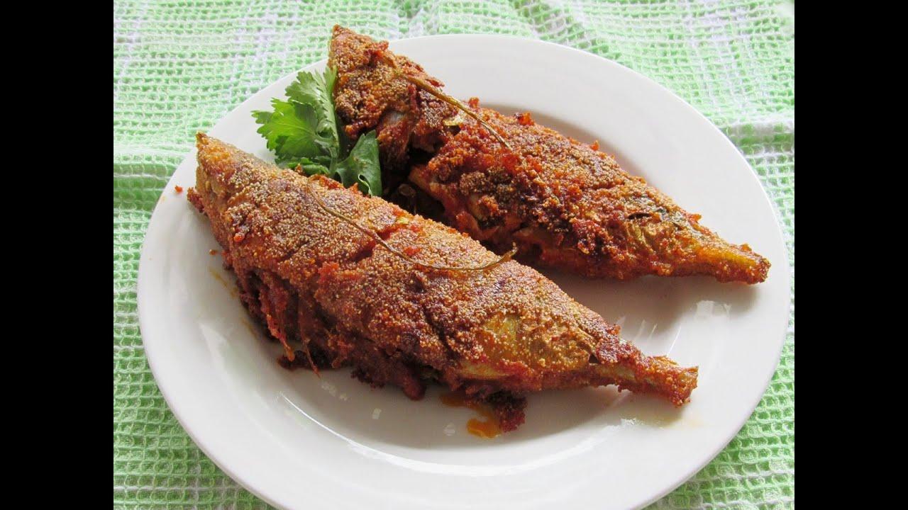 Rava fish fry mangalore style fish fry bangade for Fish fry images