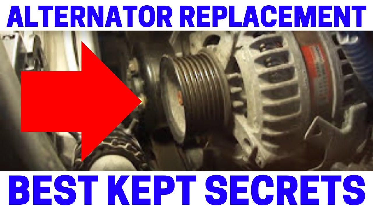 how to replace toyota alternator