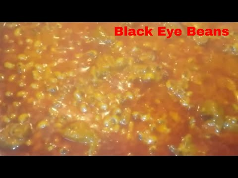 How to ;Cook Sierra Leone Beans (black eyed beans)