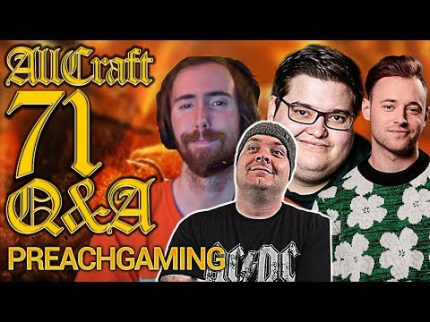 What does Asmongold and Preach Gaming think about Personal Loot? - ALLCRAFT Q&A ft Rich, & Hotted