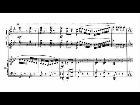 Saint-Saëns: Pas Redoublé, Op. 86 (Piano, 4 Hands)