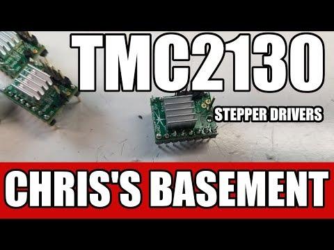 Trinamic 2130 Stepper Driver Setup - Marlin - Chris's