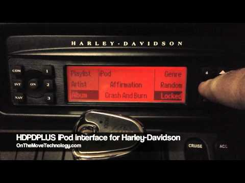 New HDPDPLUS iPod interface for Harley Davidson motorcycles