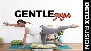 Day 10: Gentle Yoga - Vinyasa, Yin and Breath Meditation (30-Min) Detox Yoga Fusion