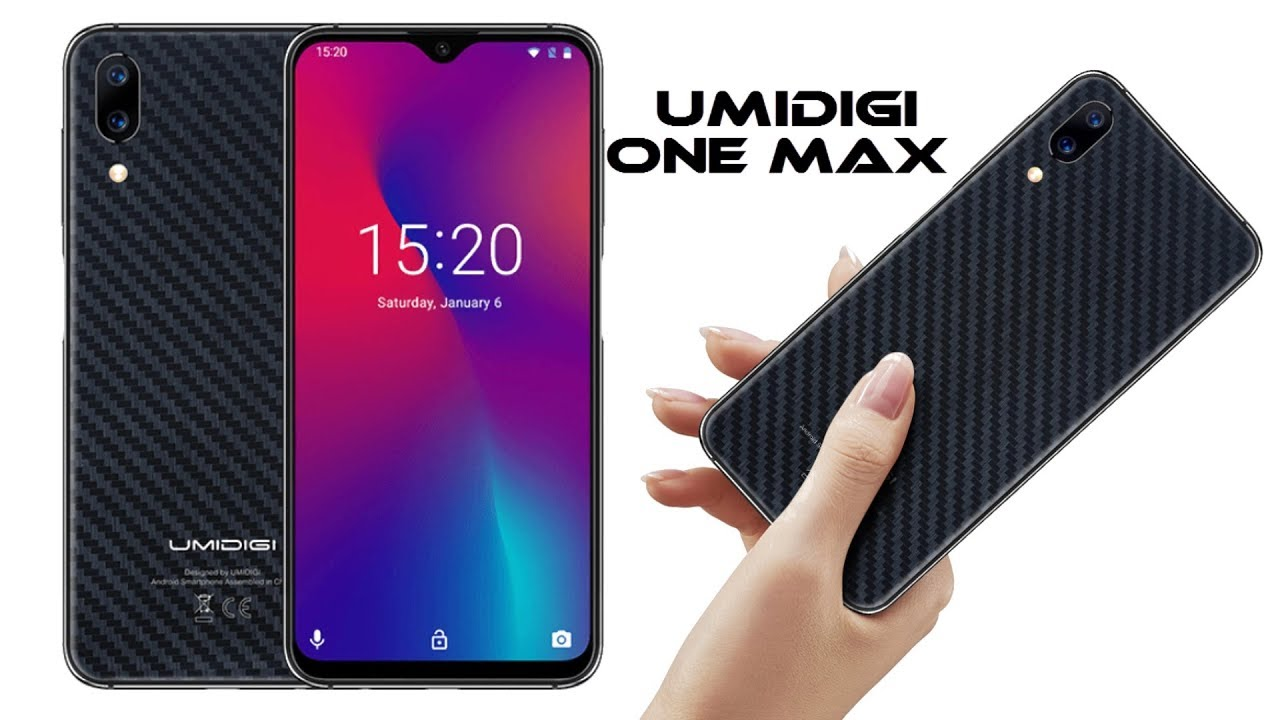 UMIDIGI One Max - 4GB RAM smartphone
