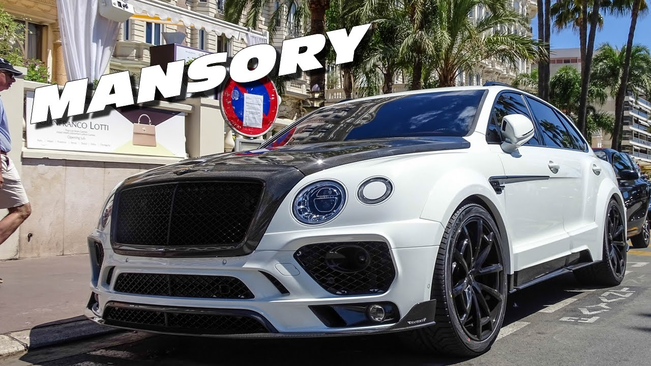 first mansory bentley bentayga in street youtube. Black Bedroom Furniture Sets. Home Design Ideas
