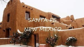 Santa Fe, New Mexico, Usa HD