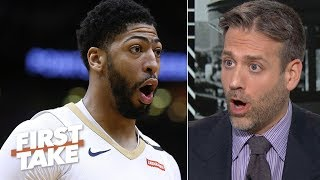 why should anthony davis have to pay for the lakers mistakes max kellerman first take
