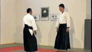 Morihiro Saito Sensei. Shomen Uchi, Kata Dori..