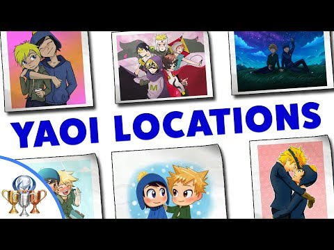 South Park The Fractured But Whole - All 40 Yaoi Art Pieces - Love Aficionado Scavenger Hunt