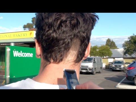 SHAVING PEOPLE'S HAIR Prank!