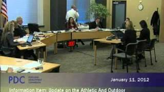 PDC Commission Meeting 1/11/12