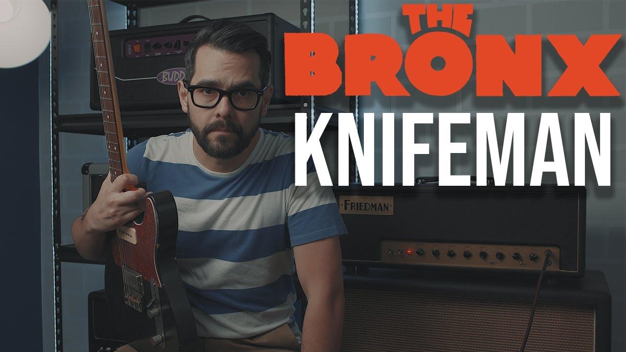 The Bronx - Knifeman (Guitar Cover)