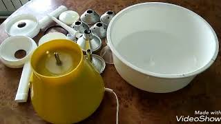 Сепаратор, домашние густые сливки или домашняя сметана из молока