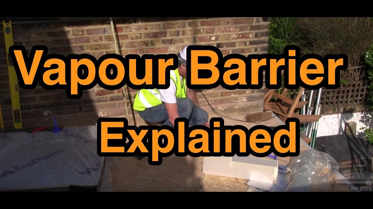 Warm Flat Roof Vapour Barrier Insulation Explained Youtube