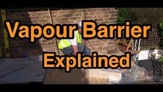 Warm Flat Roof Vapour Barrier Insulation Explained