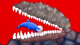 МАЛЕНЬКАЯ РЫБКА Tasty Blue #15 Пиратские сокровища и морские животные в прикольной игре #КРУТИЛКИНЫ
