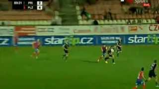 Epic  Fail Miss Viktoria Plzen Striker  in  Pribram 2-4 Plzen