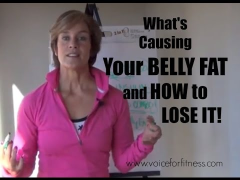 What's Causing Your Belly Fat After 50 and How To Lose It