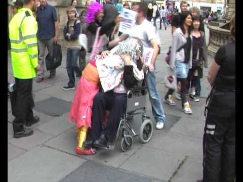 Scaerie Faeries Special Operation in Bath with The Love Police