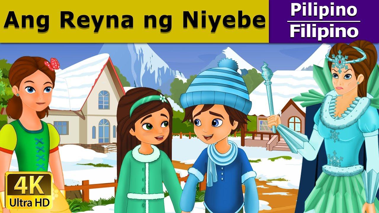 Ang Reyna ng Niyebe  - Kwentong Pambata - Pambatang Kwento - 4K UHD - Filipino Fairy Tales
