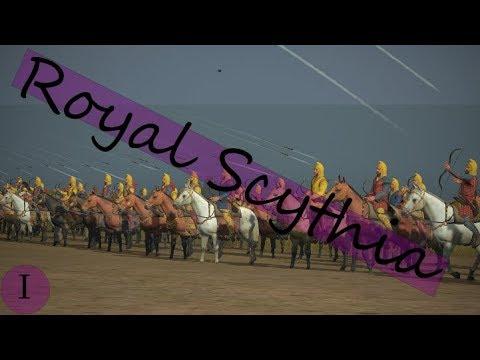 Total War Rome II Royal Scythia I: Arrows Away! - YouTube