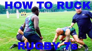 HOW TO RUCK  RUGBY 7s