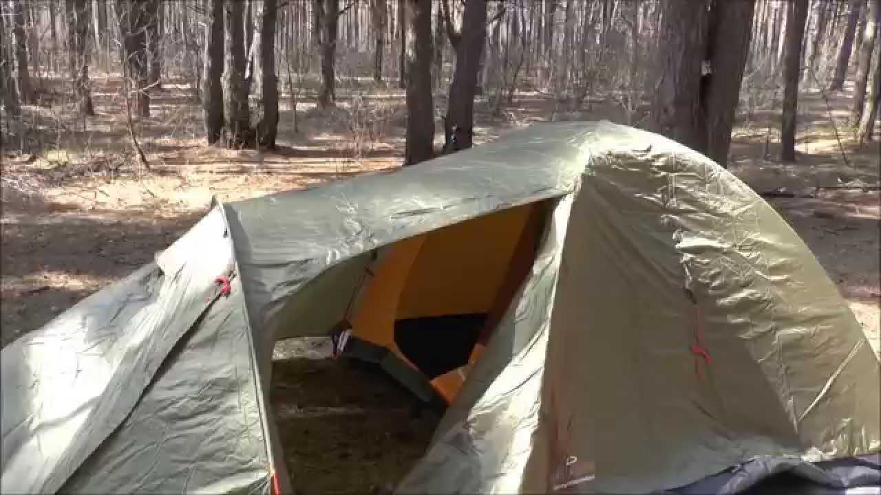Туристическая палатка Nordway Cadaques 3 Видео - YouTube