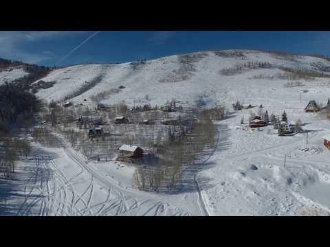 Autel Evo Drone Footage, Scofield Utah 2019
