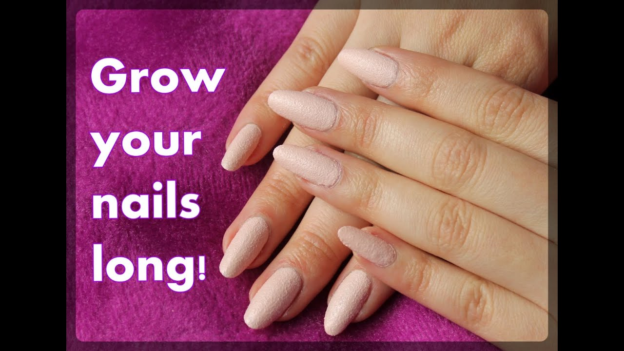 5 tips to grow your nails long - YouTube