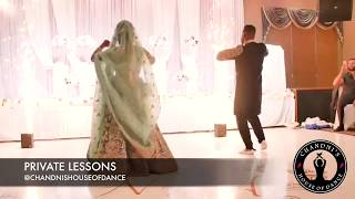 BEST BRIDE AND GROOM BOLLYWOOD PERFORMANCE - Duniya - Sajanji Ghar Aya - Cheez Badi - Ankh Maray