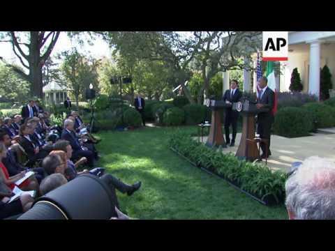 Obama, Renzi Urge a Strong, United Europe